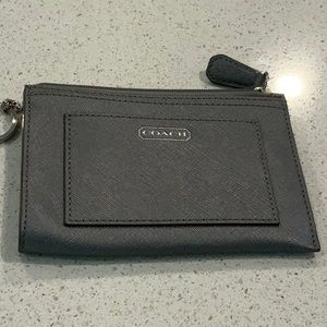 NWT coach keychain and credit cards holder